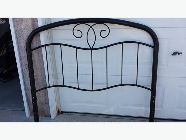 Metal Bed Frame Red Deer