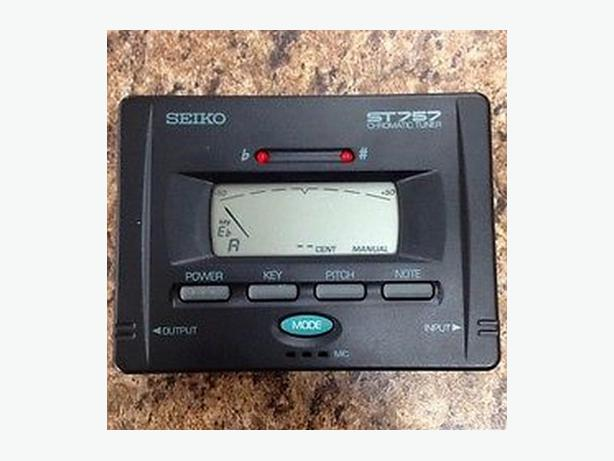 seiko chromatic tuner st 747 manual