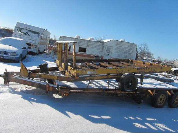 Havelock Hauler Single Axle Tilt Deck Trailer