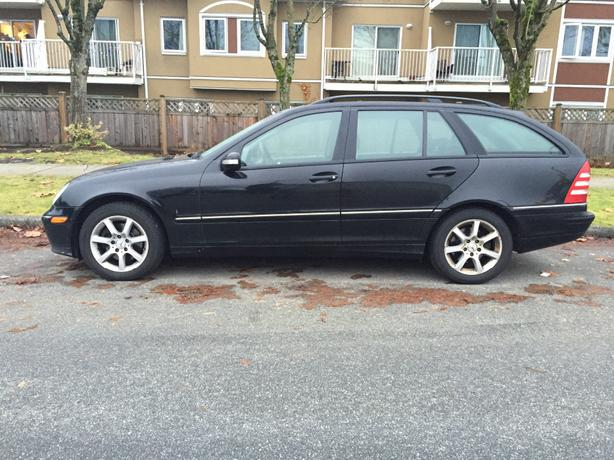 2005 mercedes benz 4 matic station wagon outside victoria for Used mercedes benz station wagon