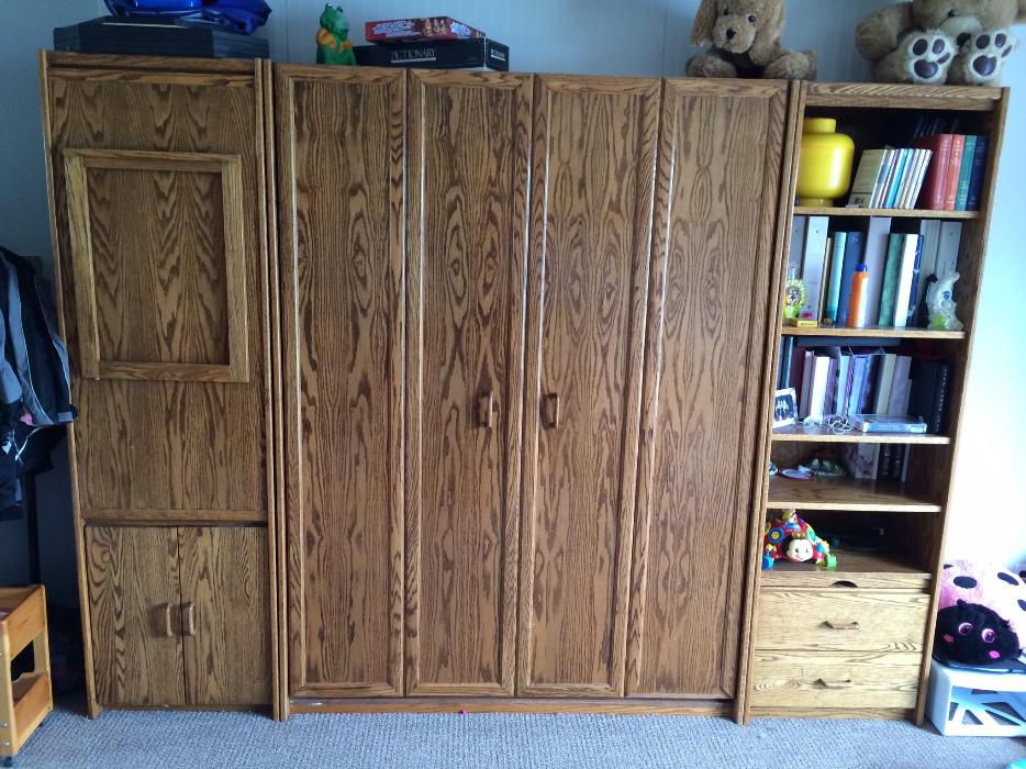 Murphy Beds In Clearwater Fl : Solid oak murphy bed central nanaimo parksville qualicum
