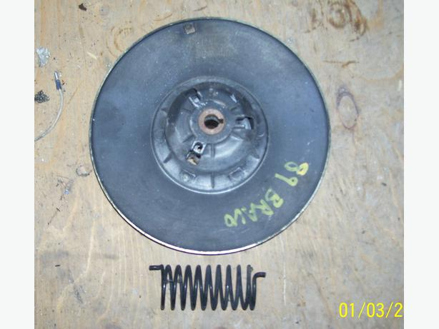 Yamaha Bravo 250 secondary clutch driven clutch
