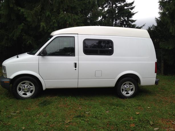 2003 chevrolet astro cargo van all wheel drive outside victoria victoria. Black Bedroom Furniture Sets. Home Design Ideas