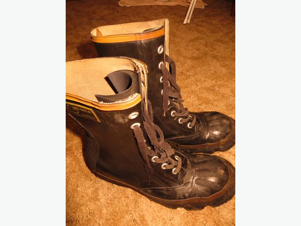rubber work boots steel toe miner south nanaimo nanaimo