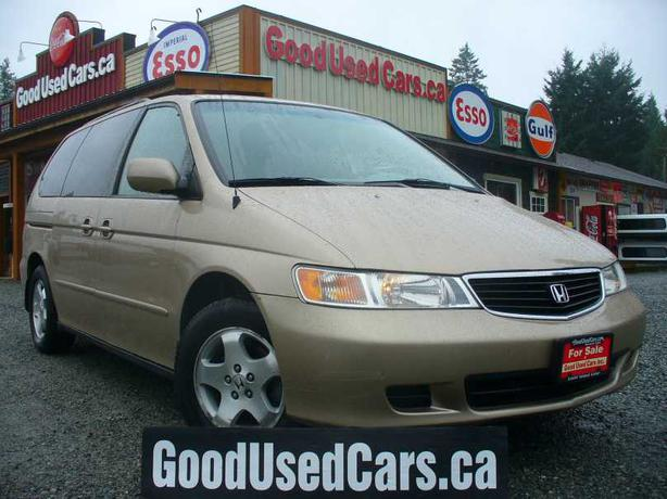 1999 honda odyssey w stow and go only 144km 1yr powertrain warranty outside nanaimo nanaimo. Black Bedroom Furniture Sets. Home Design Ideas