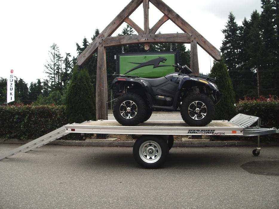 raptor atv and side by sides trailers lantzville nanaimo mobile. Black Bedroom Furniture Sets. Home Design Ideas
