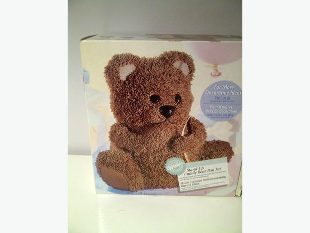 Stand Up Teddy Bear Cake Pan