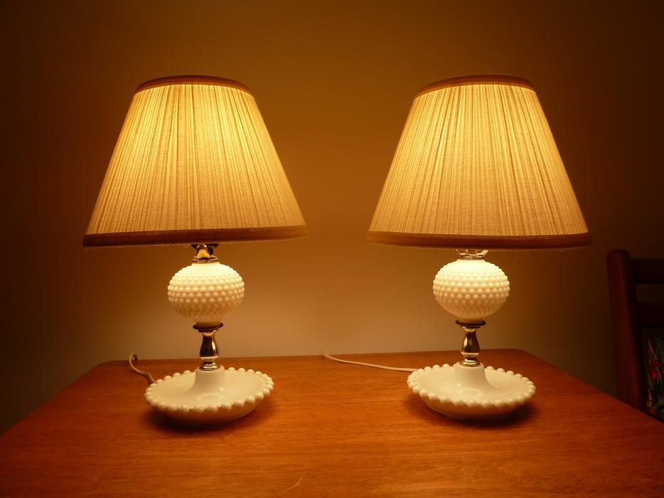 Salt Lamps Kamloops : Pair of lamps Duncan, Cowichan