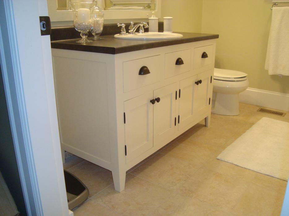 Made To Order 48 Inch Cottage Style Bathroom Vanity North Nanaimo Parksville Qualicum Beach