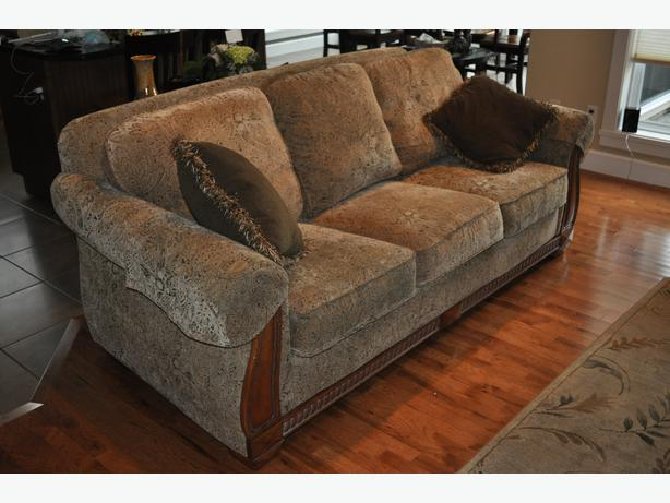 Sofa And Matching Love Seat Parksville Parksville