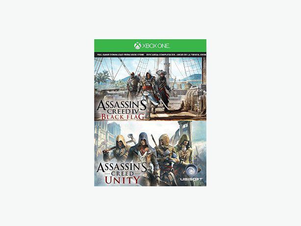 Assassin's Creed Unity and Assassin's Creed Black Flag (Xbox One)