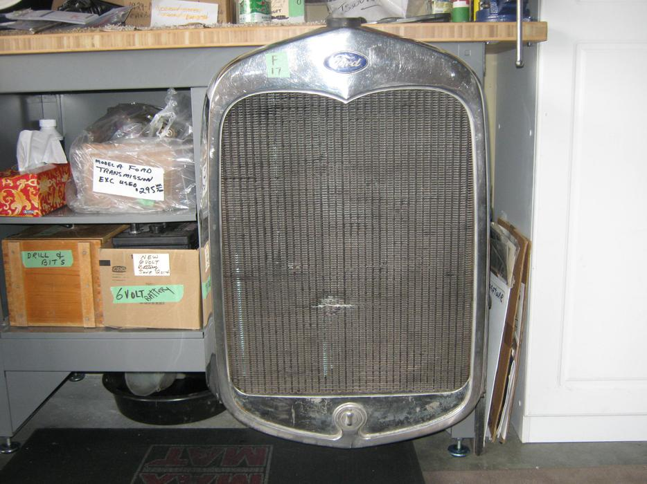 1930 31 Ford Radiator And Shells West Shore Langford