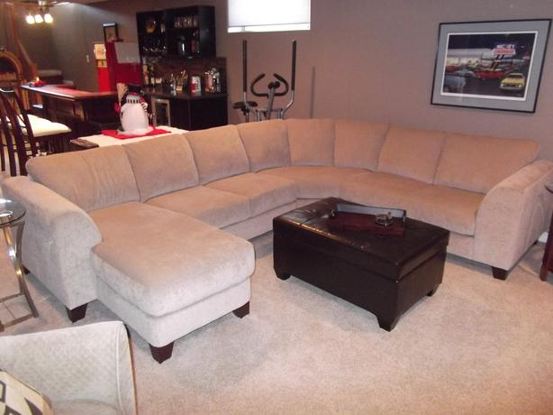 large sectional with chaise lounge east