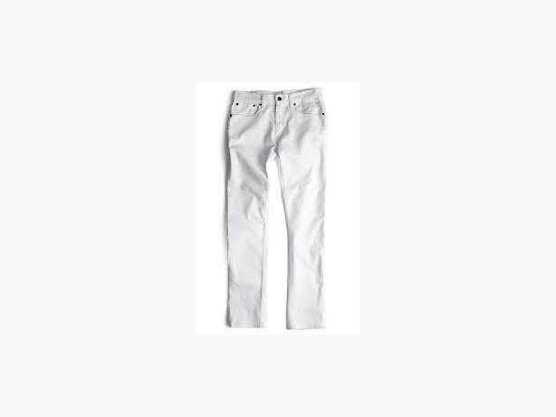 Levis 511 White denim jeans