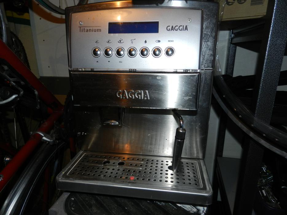 gaggia titanium espresso machine shawnigan lake cowichan. Black Bedroom Furniture Sets. Home Design Ideas