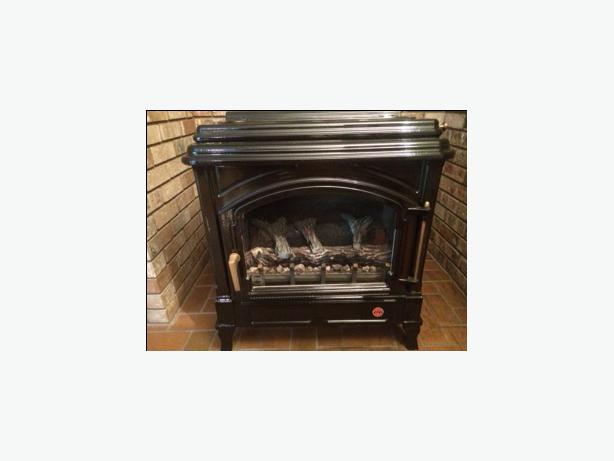 efel free standing propane fireplace north saanich