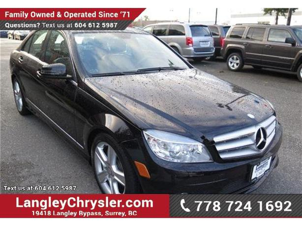2010 mercedes benz c class c300 4matic w leather interior for Accessories for mercedes benz c class