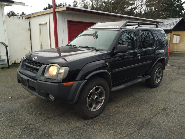 2002 nissan xterra low mileage outside nanaimo nanaimo. Black Bedroom Furniture Sets. Home Design Ideas