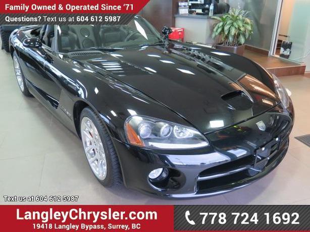 2004 Dodge Viper Srt10 W Leather Interior 8 3l V10