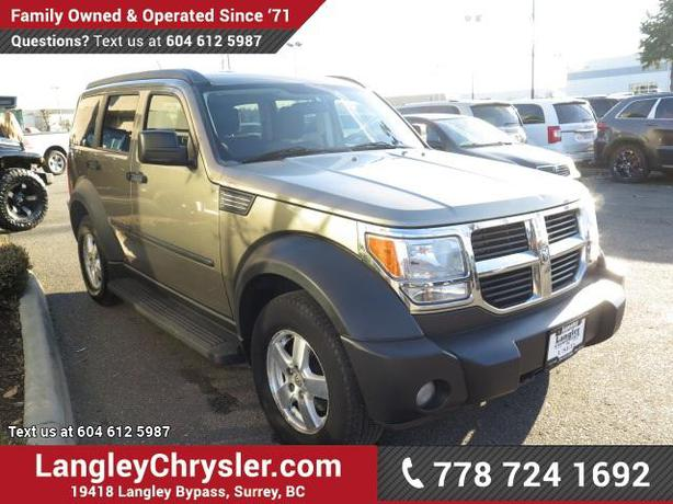 log in needed 8 900 2007 dodge nitro w power accessories 4x4. Cars Review. Best American Auto & Cars Review