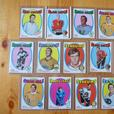 13  Different 1971 OPC Cards