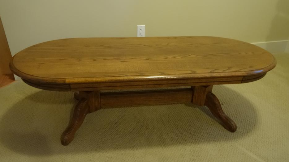 Solid maple coffee table north nanaimo nanaimo for Coffee tables kelowna