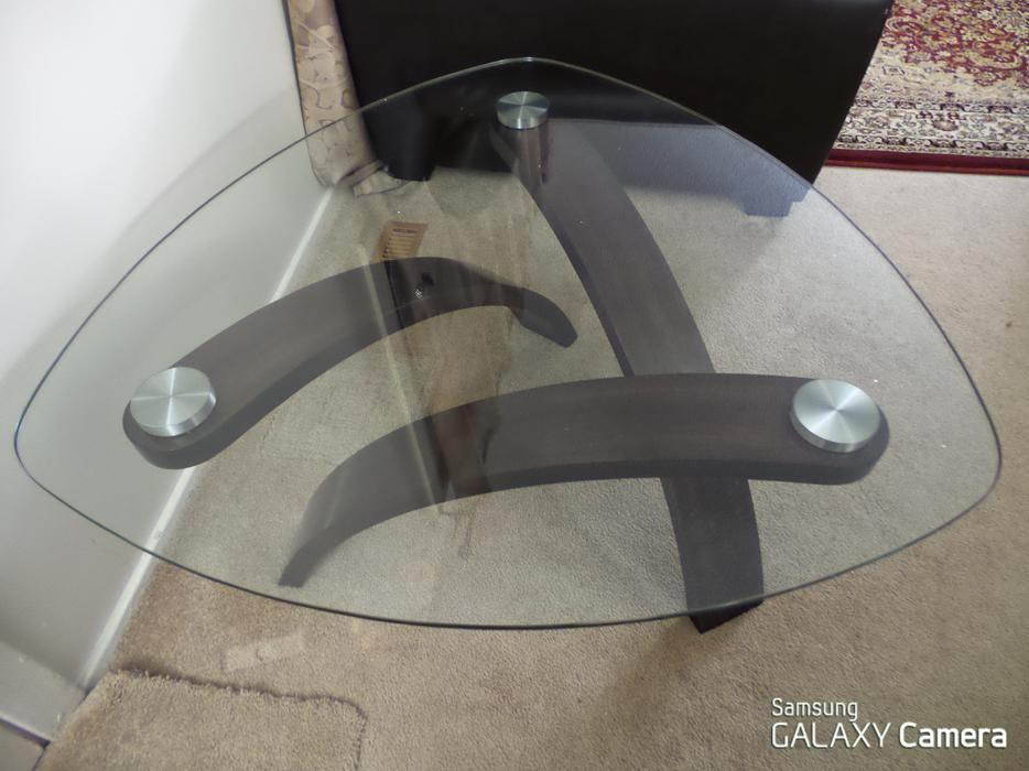 Glass coffee table for sale north regina regina Used glass coffee table