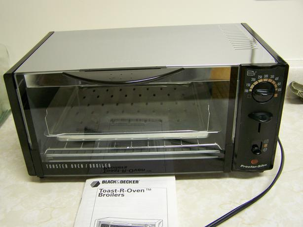 how to clean outside of toaster oven