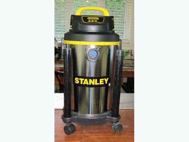 stanley 5 gallon wet dry vac manual