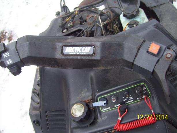 Arctic Cat Jag Thundercat ZR Cougar Puma handlebars brake assembly