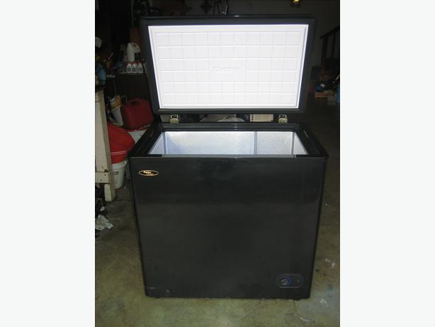 black danby 55 cubic feet deep freezer for sale