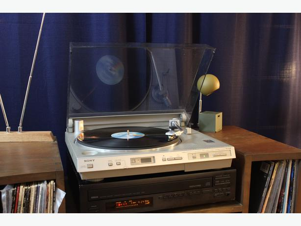 Sony PS-636 Fully Auto Computerized Turntable