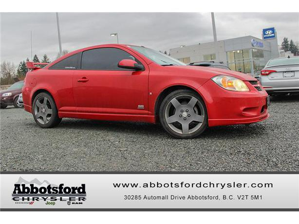 2006 chevrolet cobalt ss supercharged w multi media low rise tires outside metro vancouver. Black Bedroom Furniture Sets. Home Design Ideas
