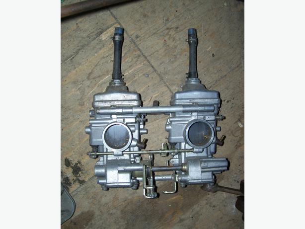 Polaris XC500 flatslide carbs carburetors