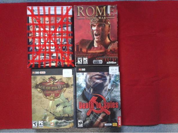 PC DVD & CD-ROM Games