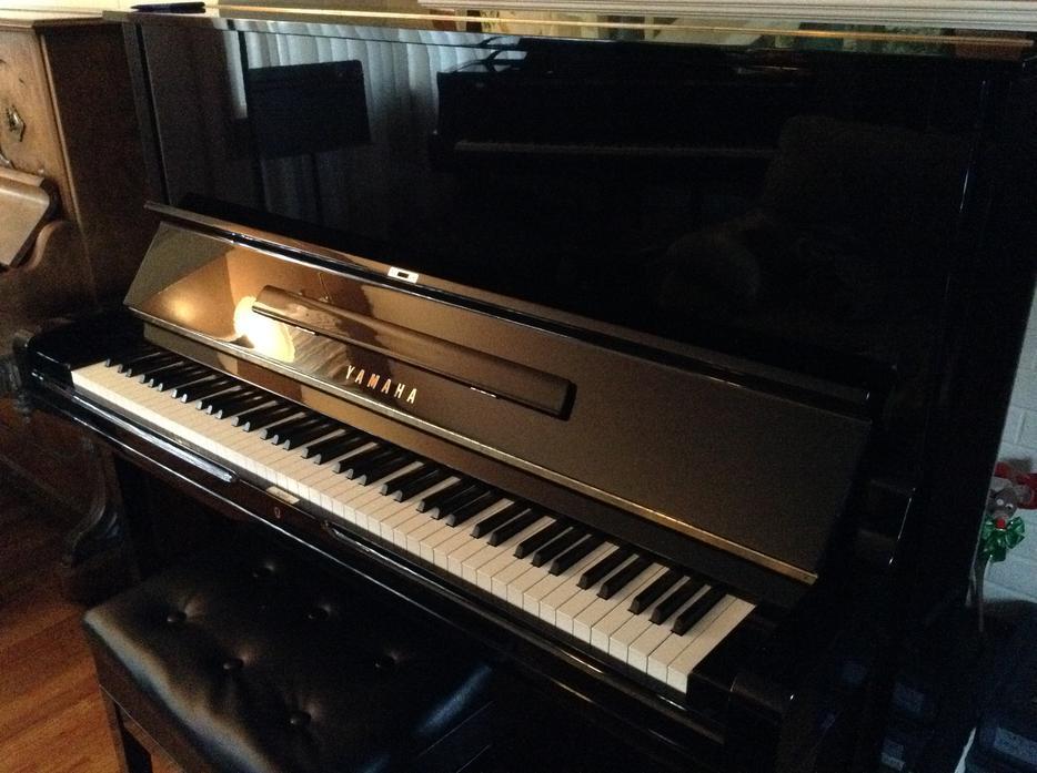 Yamaha u3 professional upright piano victoria city victoria for Yamaha piano store winnipeg