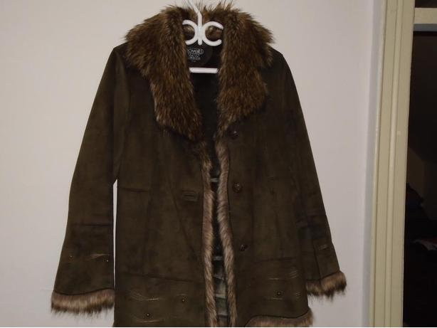 Brand New! Novelti petite for Lindor Faux fur trim jacket size M/M $100.00