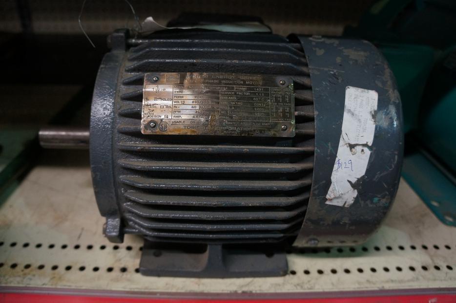 Toshiba 1 5 Hp 3 Phase Electric Motor I 32253 Victoria