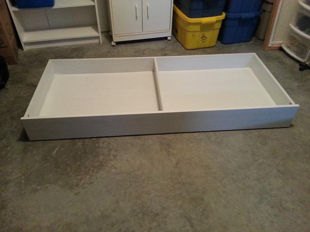 Ikea Grundtal Kitchen Roll Holder ~ For Sale  white IKEA underbed storage drawers on wheels North Nanaimo