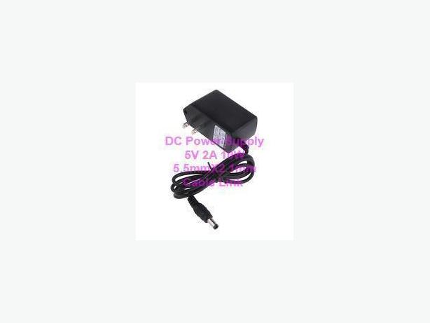 DC Power Supply 5V 2A 5.5mmx2.1mm