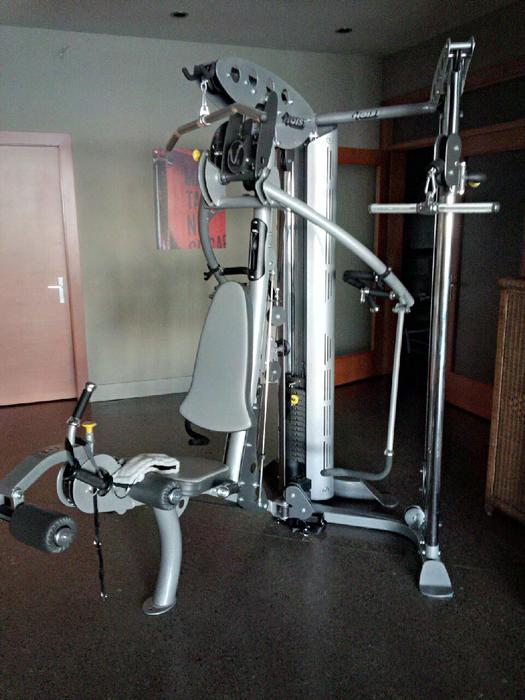 Hoist v elite home gym with hi lo attachment nanoose bay