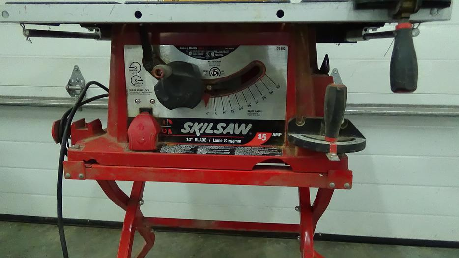 Skilsaw 10 39 blade table saw 3400 mitre box langley for 10 inch skilsaw table saw