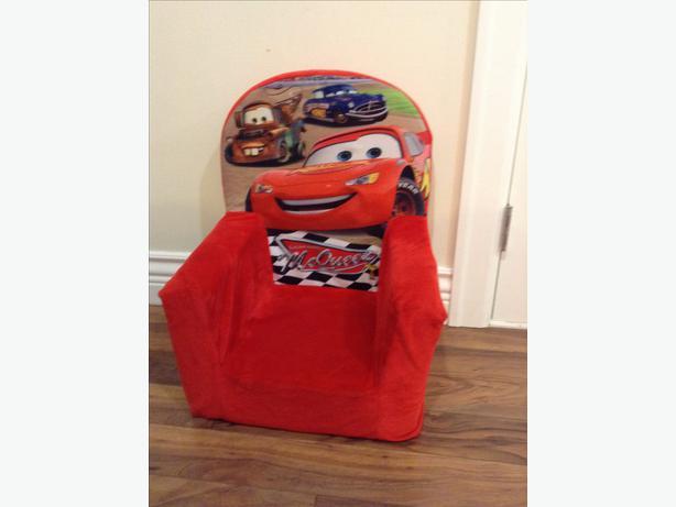 Lightning McQueen Plush Toddler Chair