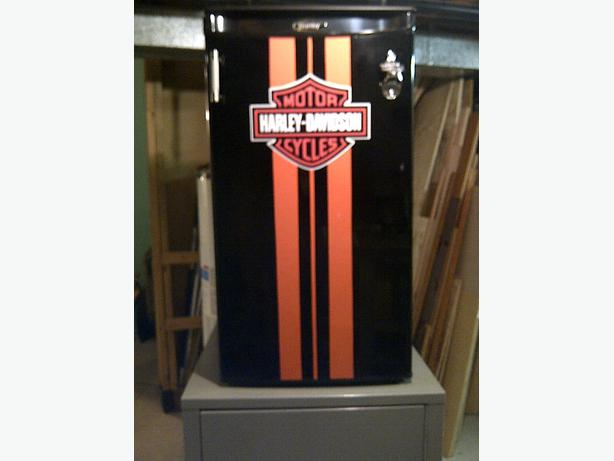 Harley Davidson Style Mini Bar Fridge Sault Ste Marie