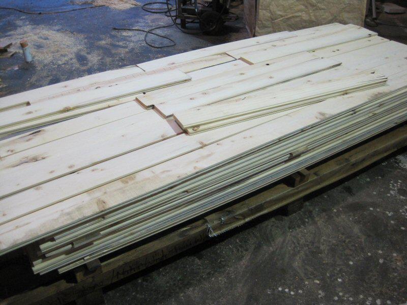 Clearance yellow cedar mill run flooring outside comox for Mill run flooring