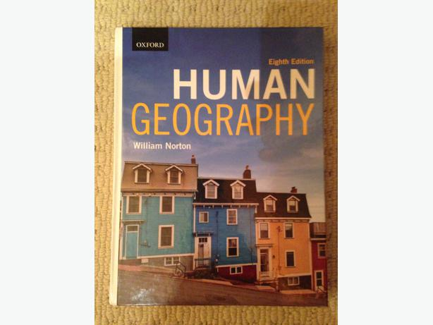 human geography william norton pdf