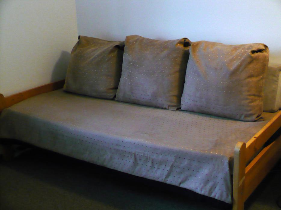 Five Large Cushions Covers And Bed Cover Make Bed Into Couch Victoria City Victoria