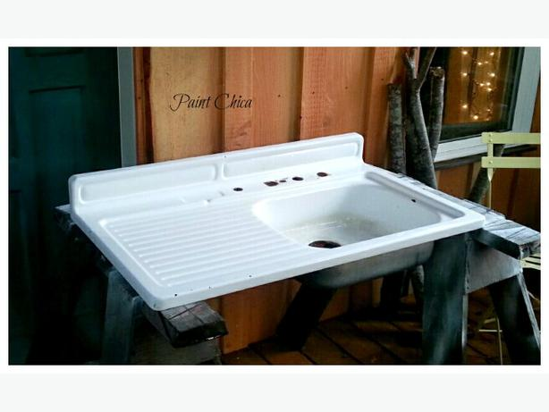 Log In needed $250 ? Farmhouse sink with drainboard