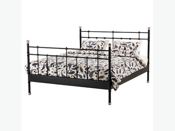 Reduced black metal full bed frame vancouver city vancouver Metal bed frame full