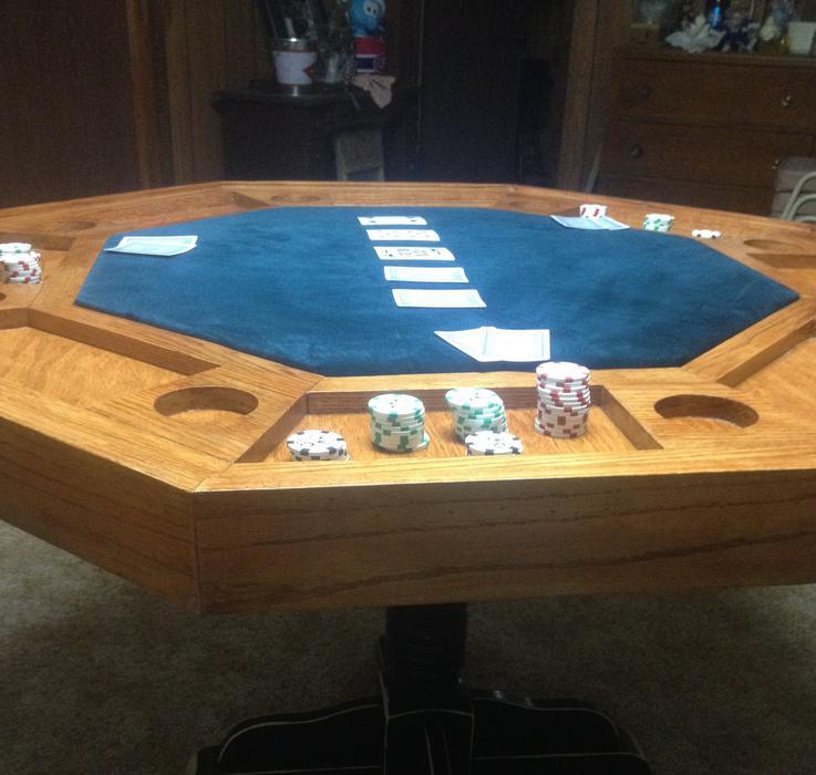Kamloops poker table